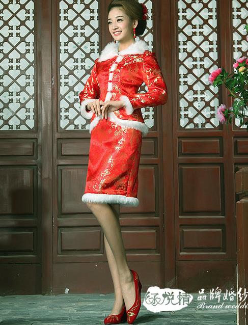 Китайские платья самой
